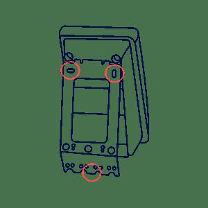 Technische Zeichnung Terminal Montageheft4